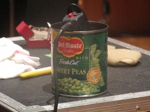 Peas and Dremel Tool