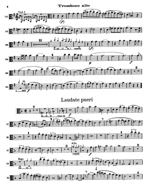 Mozart Vesperae Excerpt