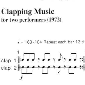 Clapping Music