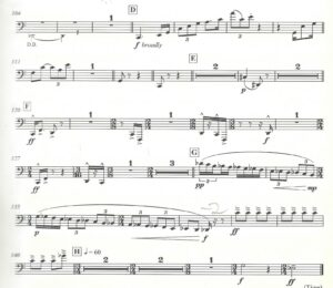 Richard Ayres - No. 42 In the Alps, Act I, Prelude - Trombone