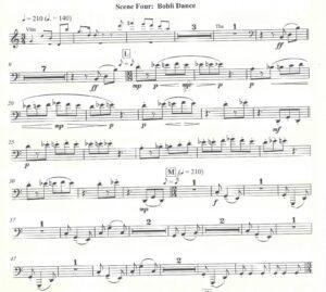 Richard Ayres - No. 42 In the Alps, Act II, Scene 2 - Trombone