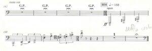 Richard Ayres - No. 42 In the Alps, Act II, Scene 5 - Trombone
